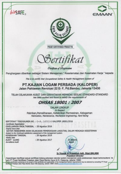 ISO 18001-2015